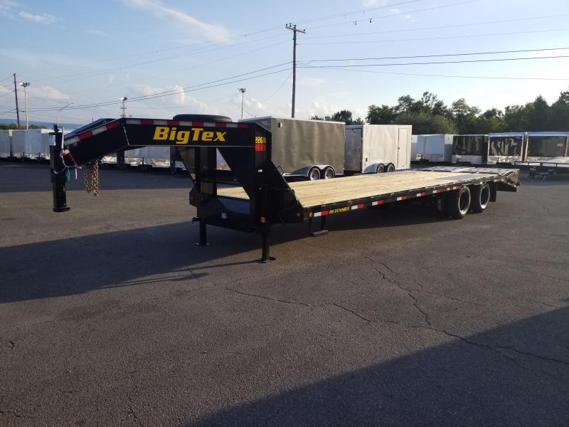 2020 Big Tex Trailers 22GN-25-5 MEGA RAMPS Flatbed Trailer