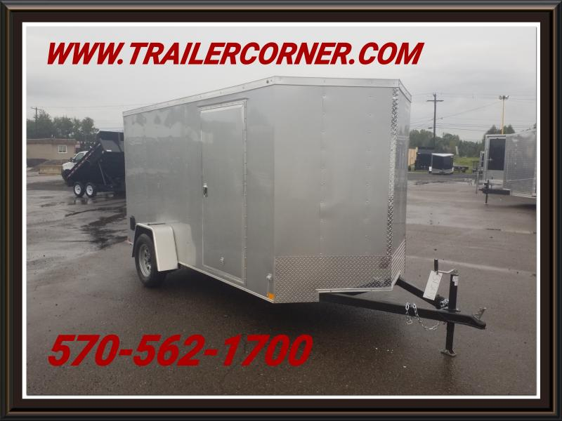 2018 Haulmark HMVG 6X12 RAMP DOOR Enclosed Cargo Trailer