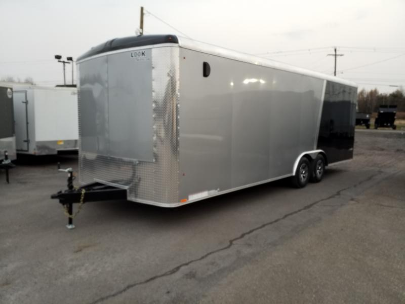 2019 Look Trailers VRLA 8.5X24 10K Car / Racing Trailer