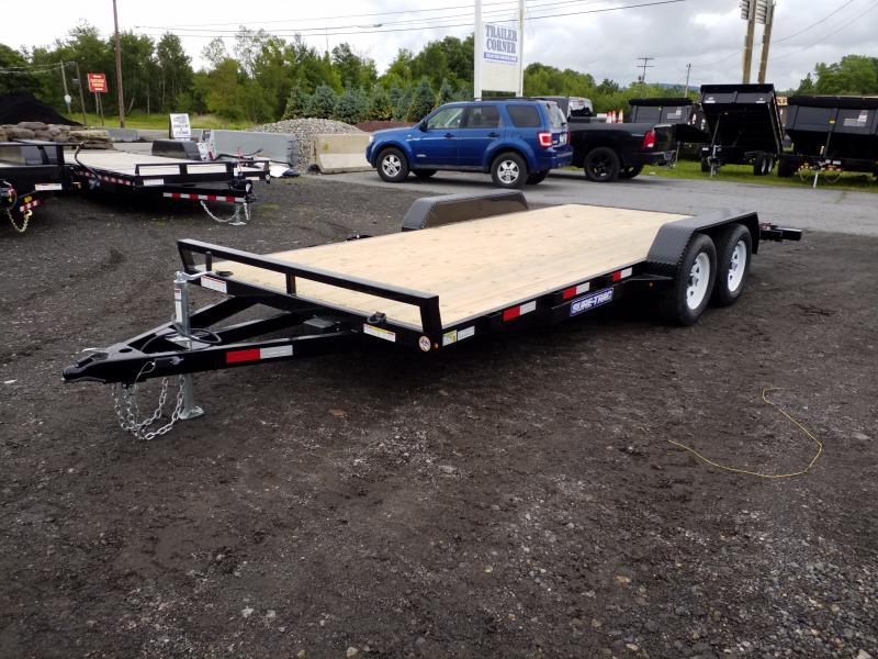2019 Sure-Trac 7X18 7K WOOD DECK Car / Racing Trailer