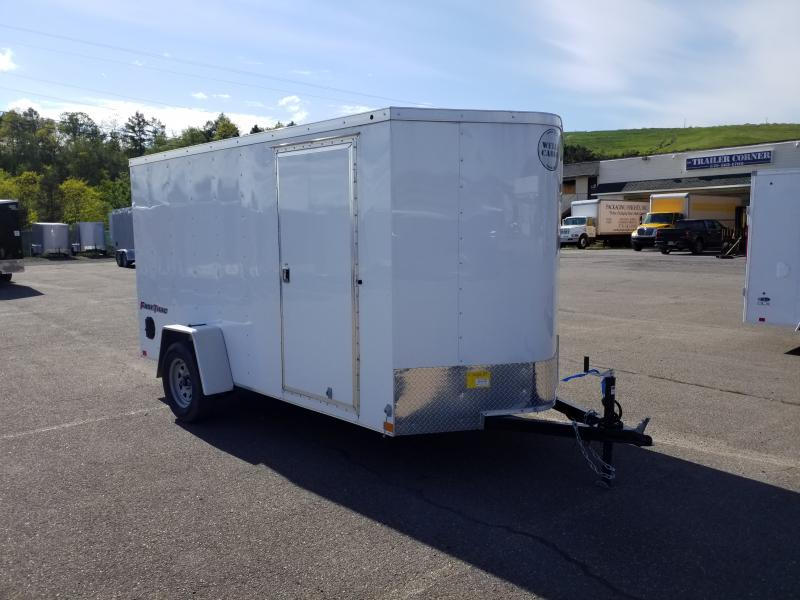 2019 Wells Cargo FT 6X12 RAMP DOOR Enclosed Cargo Trailer