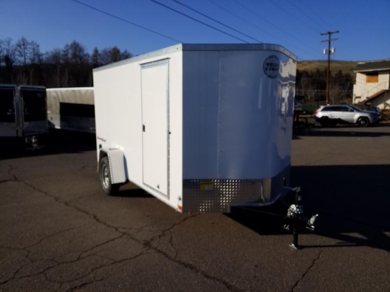 2019 Wells Cargo FT 6X12 RAMP Enclosed Cargo Trailer