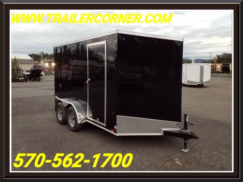 2019 Cargo Express EX 7X12 BARN DOORS Enclosed Cargo Trailer
