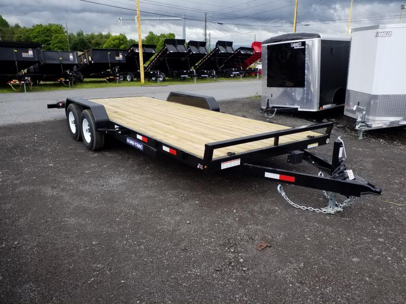 2019 Sure-Trac 7X20 10K WOOD DECK Car / Racing Trailer