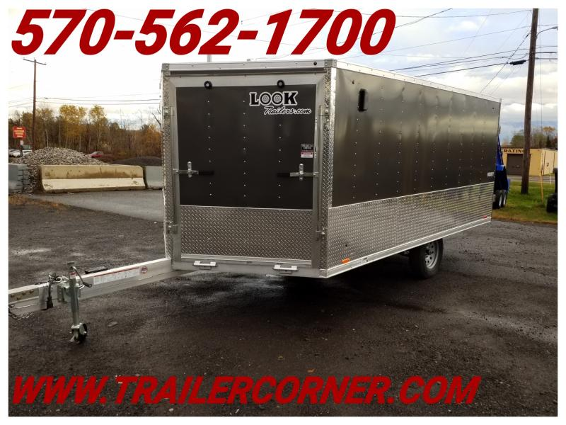 2019 Look Trailers AEDFT 8.5X14 ALUMINUM Snowmobile Trailer