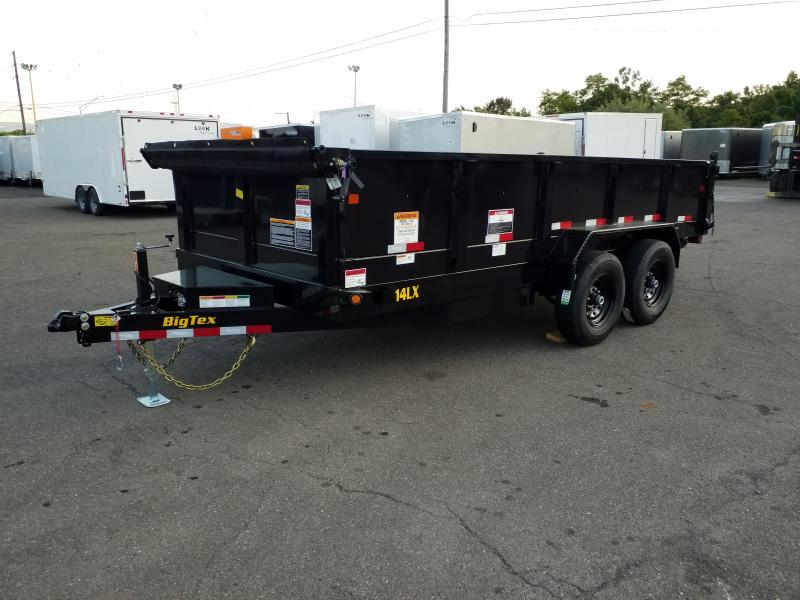 2020 Big Tex Trailers 14LX 7X16 14K RAMPS Dump Trailer