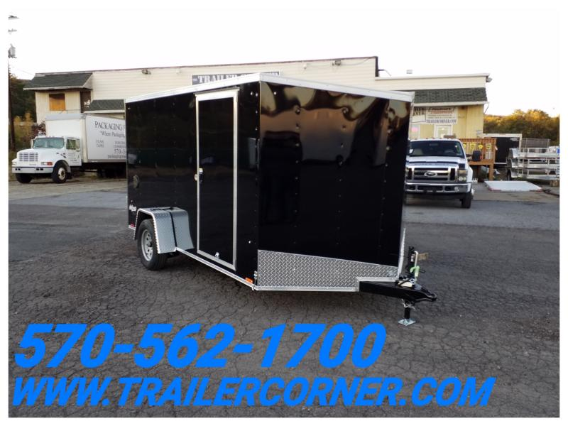 2019 Pace American OB 7X12 RAMP DOOR Enclosed Cargo Trailer