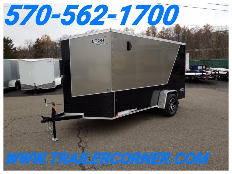 2019 Look Trailers EWLC 6X12 CUSTOM Enclosed Cargo Trailer