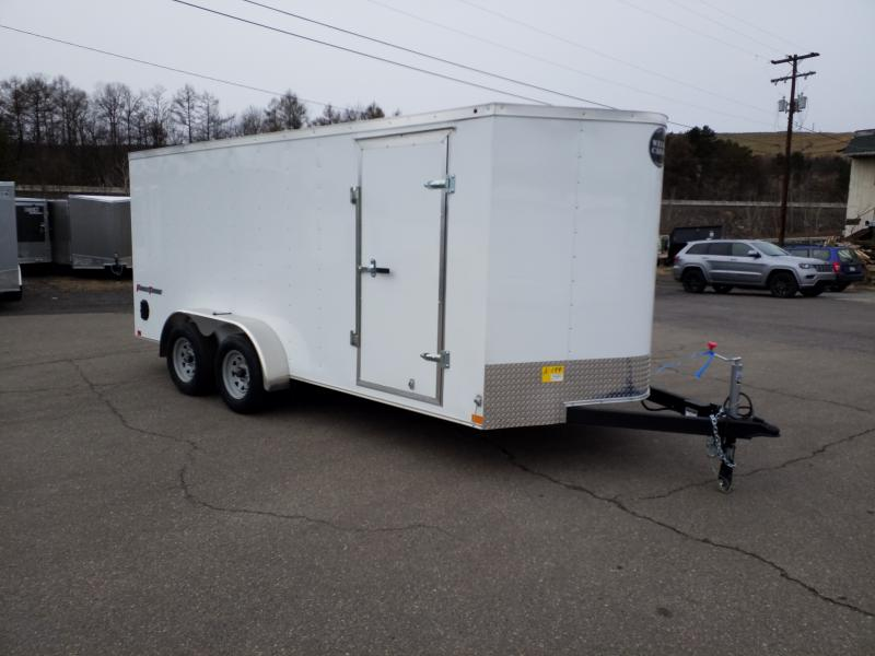 2019 Wells Cargo FT 7X16 REAR RAMP Enclosed Cargo Trailer