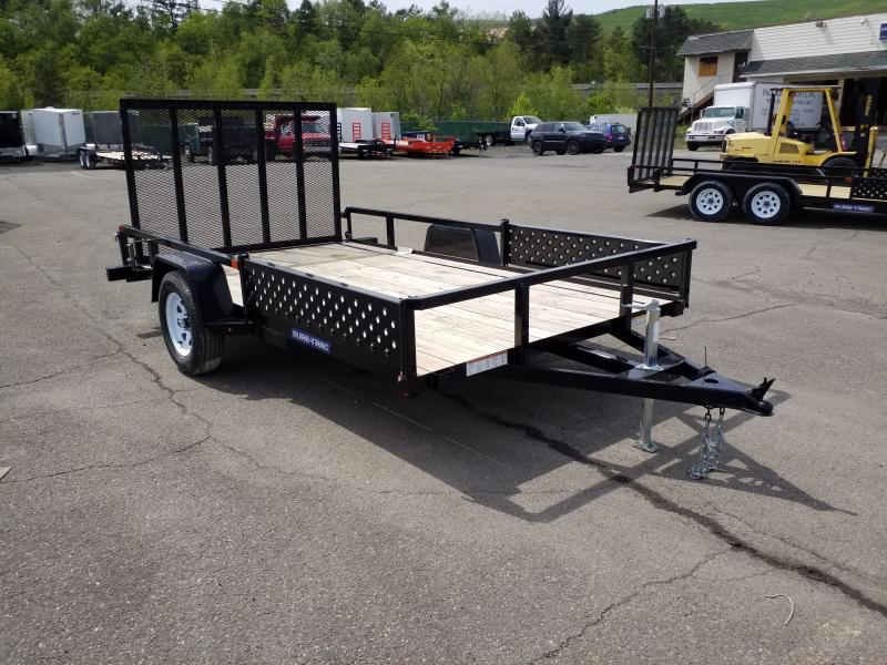 Lot 33 Tred Bed Aluminum 2 Place Atv Trailer