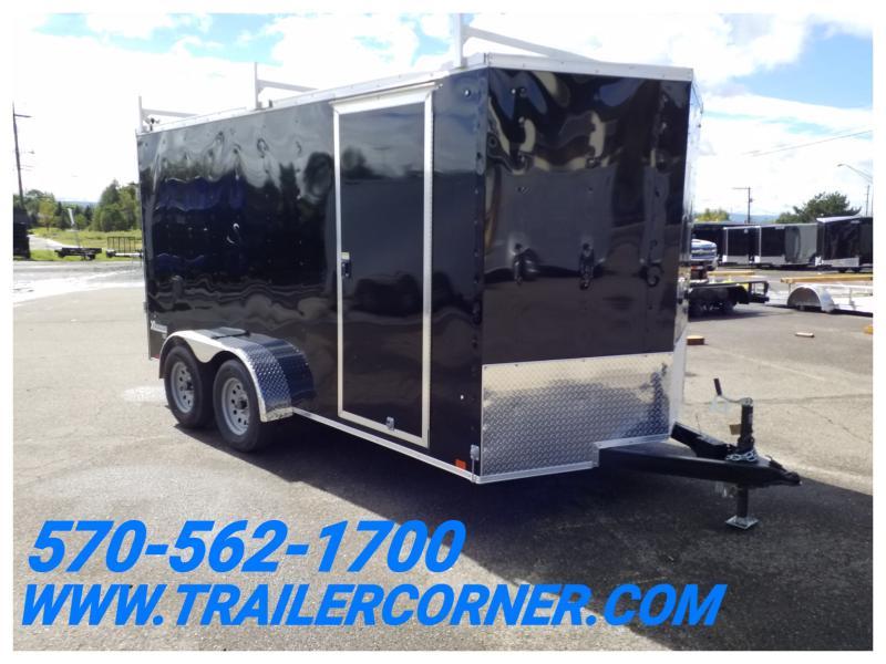 2019 Cargo Express XLW 7X14 RACKS-RAMP Enclosed Cargo Trailer