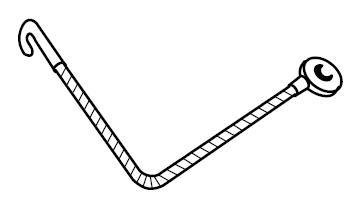 6450089 Brake Adjuster Cables