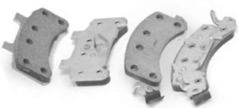 6450323 Brake Pads - Hydraulic Disc