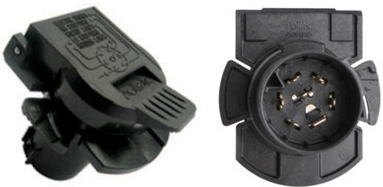 7000657 Electrical Connectors - Tow Vehicle End