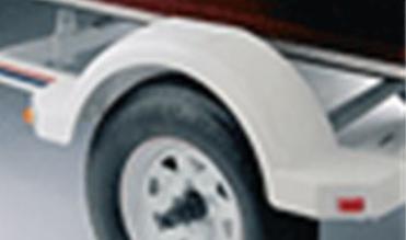 7050151 Single Fenders - Poly