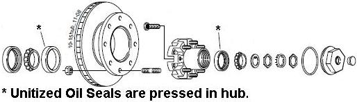 7650132-02 Hydraulic Disc Brake Assemblies