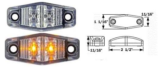 8100510 LED Clearance Marker Light