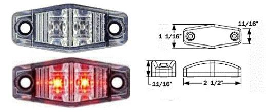 8100511 LED Clearance Marker Light