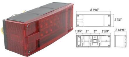 8100518 LED Stop, Turn & Tail Light