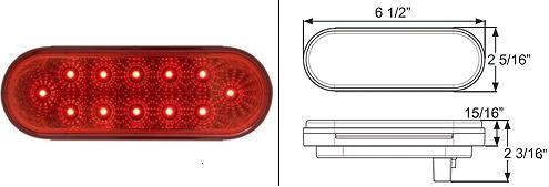 8100557 LED Stop, Turn & Tail Light