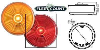 8100597 LED Clearance Marker Light