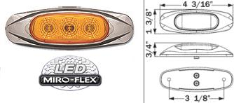 8100600 LED Clearance Marker Light