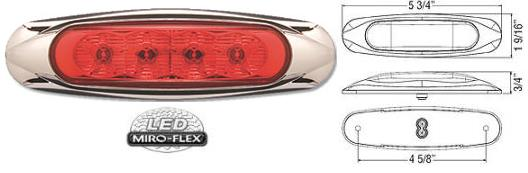 8100637 LED Clearance Marker Light
