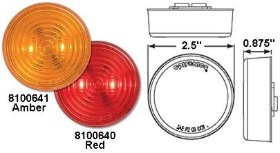 8100641 LED Clearance Marker Light