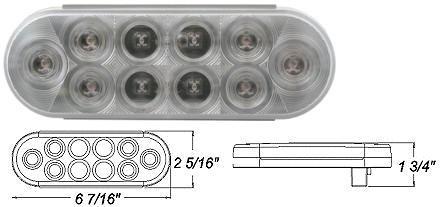 8100662 LED Stop, Turn & Tail Light