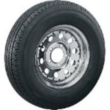 "9400030 15"" Tire & Wheel Assemblies - Bias Ply Tires"