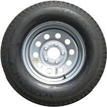 "9400612 15"" Tire & Wheel Assemblies - Bias Ply Tires"