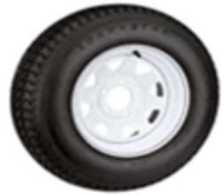 "9400625 15"" Tire & Wheel Assemblies - Bias Ply Tires"