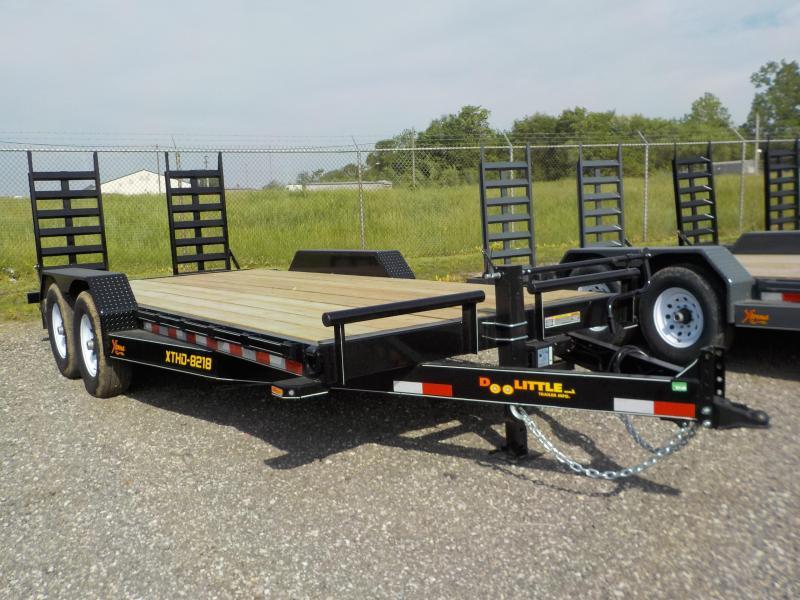 Doolittle Trailer Mfg Xtreme 82x18 14k Equipment Trailer