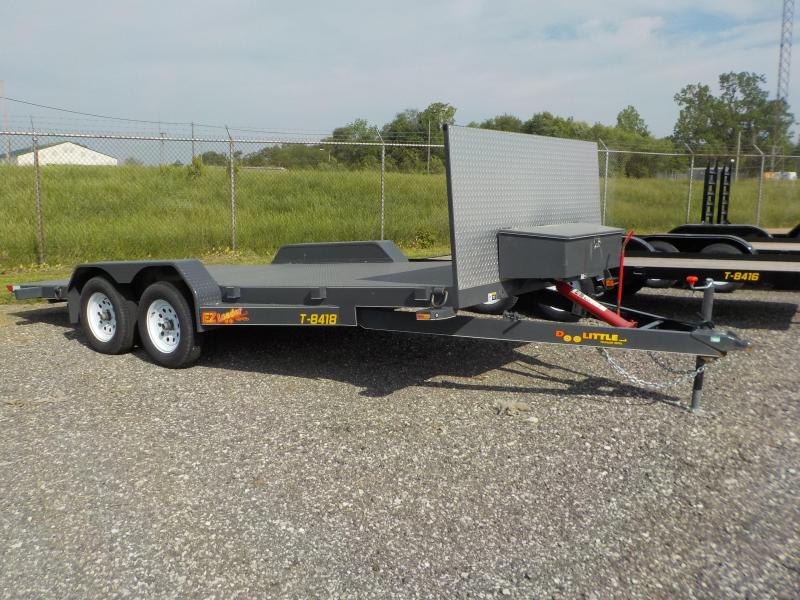 2018 Doolittle Trailer Mfg EZ Loader 84 x 18 7K Equipment Trailer