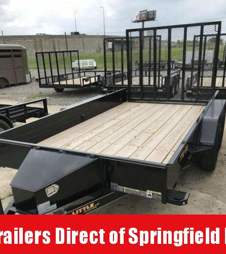 2019 Doolittle Trailer Mfg 77x12 SS T/A Utility Trailer