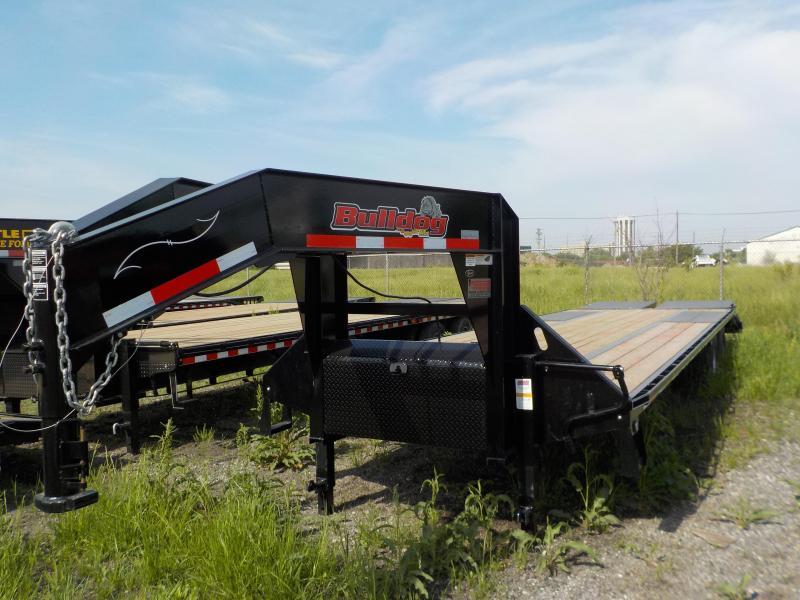 2018 Doolittle Trailer Mfg Bulldog Deckover XL 102x32 Equipment Trailer