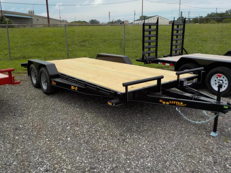 2018 Doolittle Trailer Mfg 82x18 Xtreme 7K Equipment Trailer