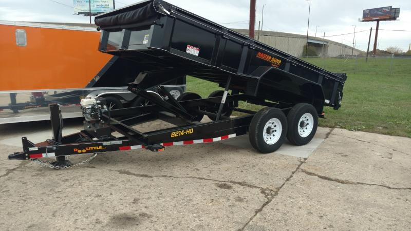 "Doolittle Trailer Mfg Masterdump 8200 Series 82"" x 14 Tandem Axle 14K Gas"