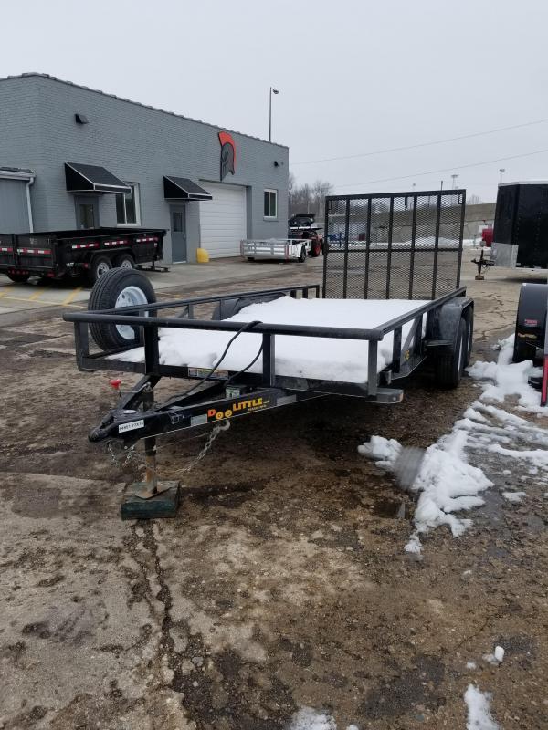 2017 Doolittle Trailer Mfg 77X16 T/A Utility Trailer