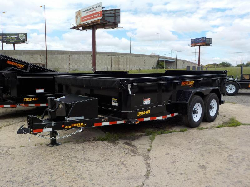 RENTAL - 2018 Doolittle Trailer Mfg Masterdump Dual Cylinder 82x14 T/A 14K