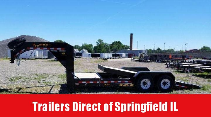 2018 Doolittle Trailer Mfg EZ Loader 16K Gravity Tilt Equipment Trailer