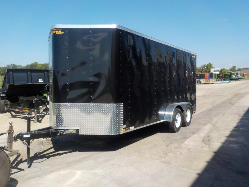 2019 Doolittle Trailer Mfg doolittle cargo 7x16 Enclosed Cargo Trailer
