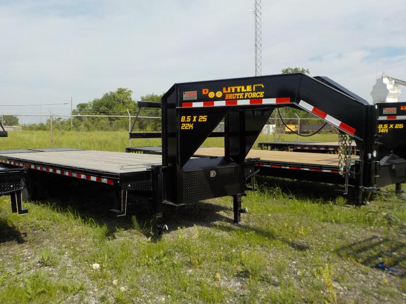 2017 Doolittle Trailer Mfg Brute Force 102x25 22K Mammoth Ramps