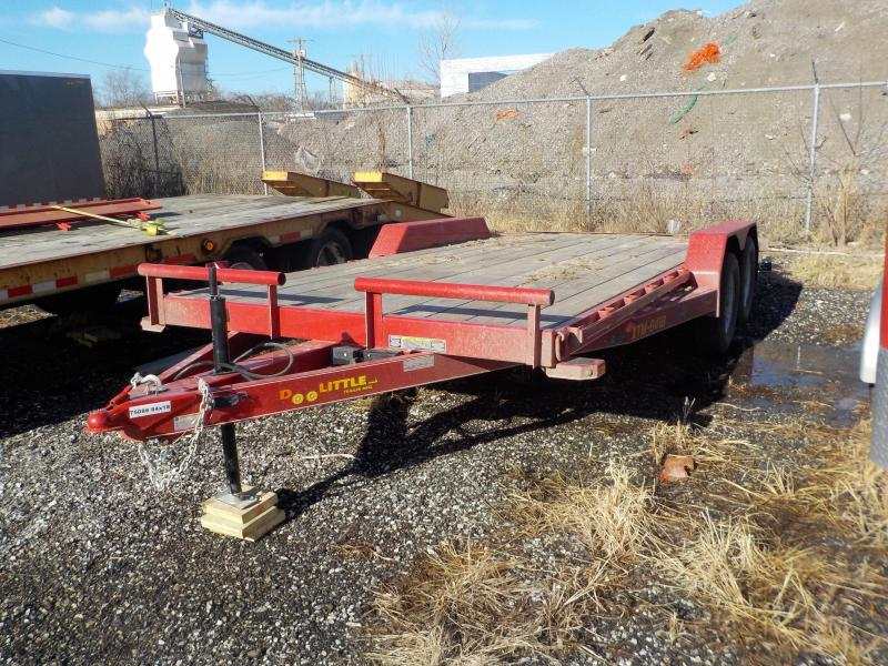 2018 Doolittle Trailer Mfg 84x18 7lb Equipment Trailer