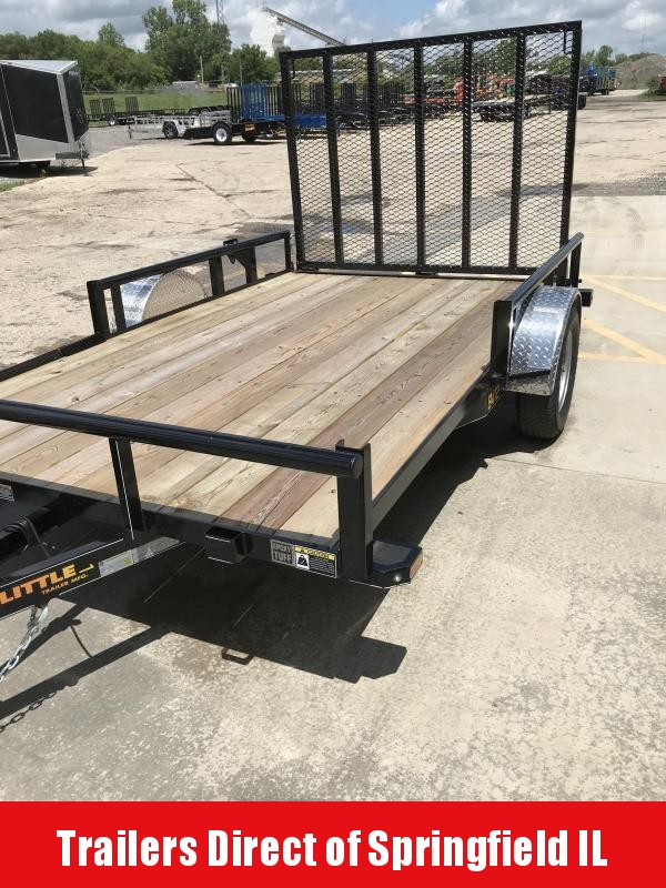 2019 Doolittle Trailer Mfg 84x12 Single Axle 3K Utility Trailer