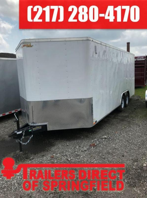 2019 Doolittle Trailer Mfg 8.5x20 T/A 7K Enclosed Cargo Trailer