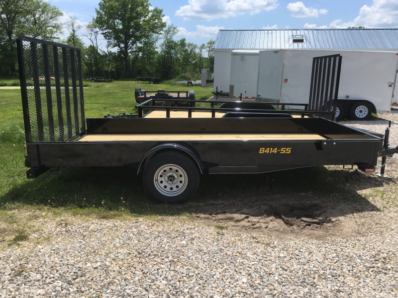2019 Doolittle Trailer Mfg 84 x 14 SS SERIES Utility Trailer