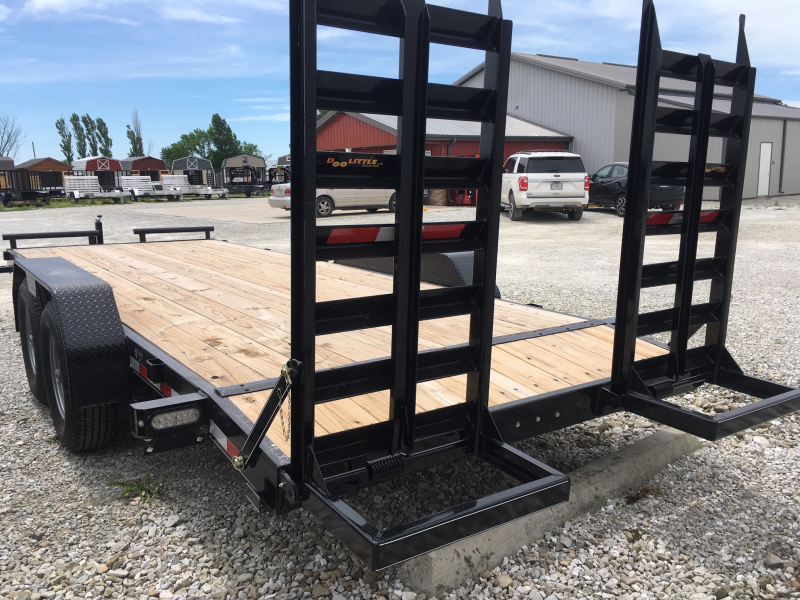 New 2019 Doolittle 82 X 18 + 2 DOVE CF EQUIPMENT TRAILER 14K GVWR