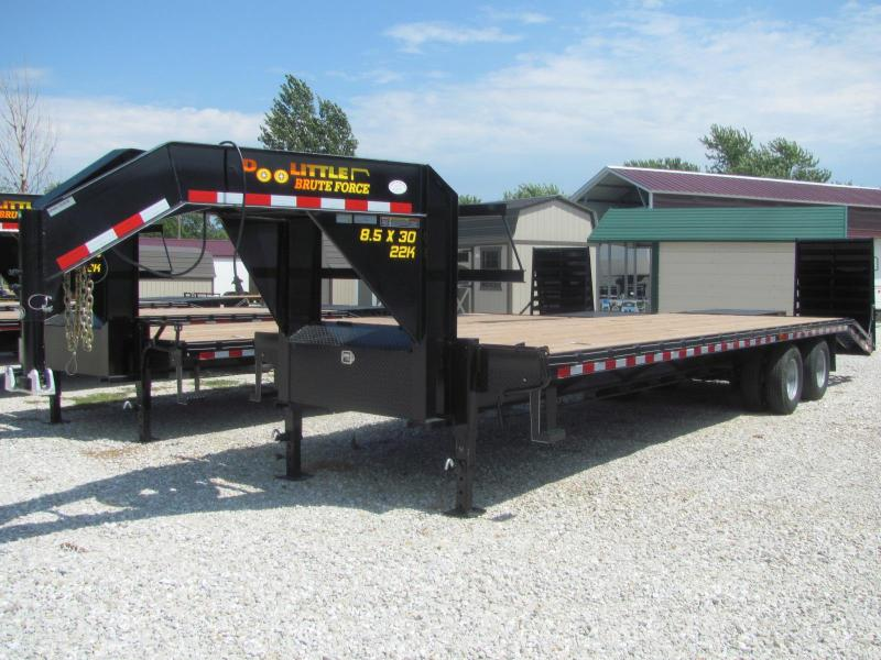 "New 2019 Doolittle 102"" x 25+5 Dove Brute Force Deckover 22K Trailer"