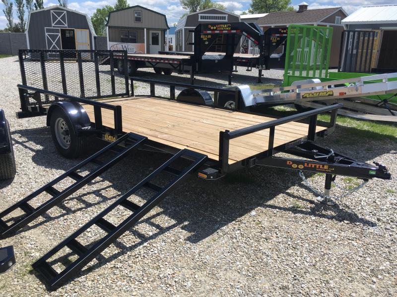 2019 Doolittle Trailer Mfg 84 x 14 PIPE RAIL Utility Trailer